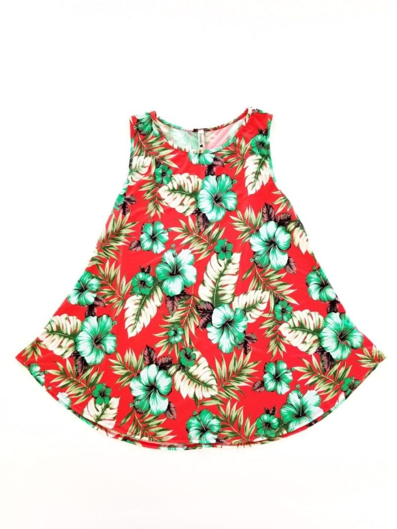 Floral Red – Awesome Threads!