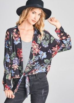 Flower Top Or Cardigan- Whichever you prefer!