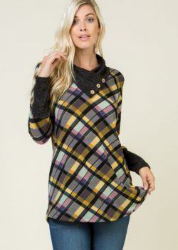 PLAID TUNIC – LISTEN TO THE MUSIC!!!!