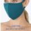 Teal Cotton Face Mask