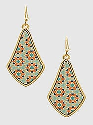 Geometric Moroccan Earrings